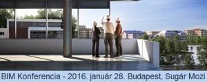 BIM Konferencia a MABIM támogatásával – 2016. január 28.