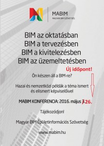 Volt egyszer egy konferencia – BIM a gyakorlatban,  2016. május 26.